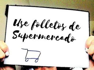 folletos de supermercado