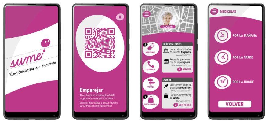 sume app para cuidador