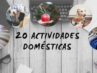 actividades domesticas