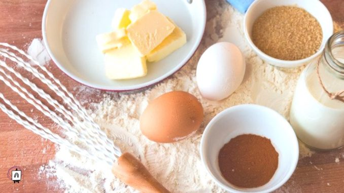 preparar la receta del pastel