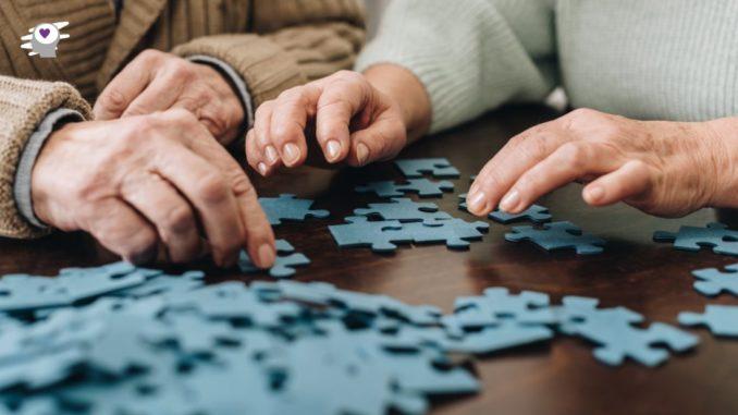 montando puzzle