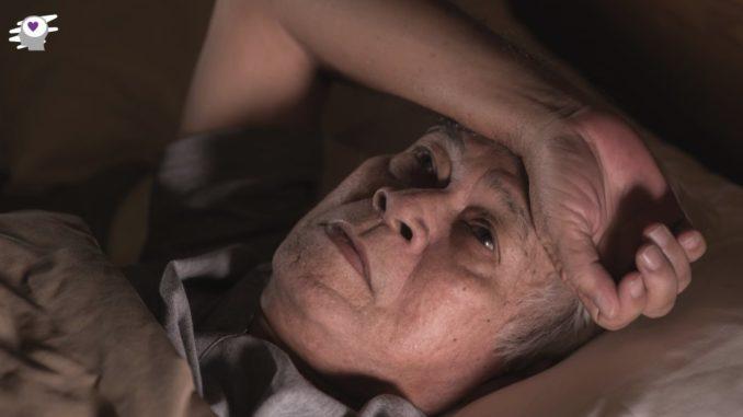 anciano con miedo
