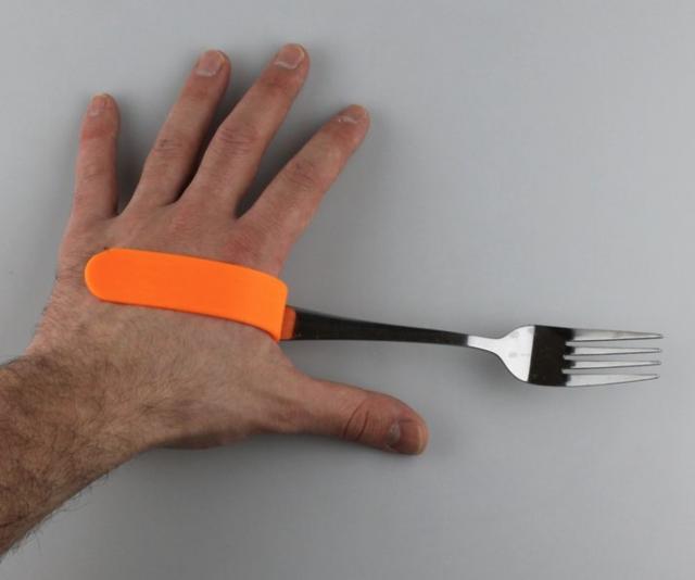 soporte para tenedor