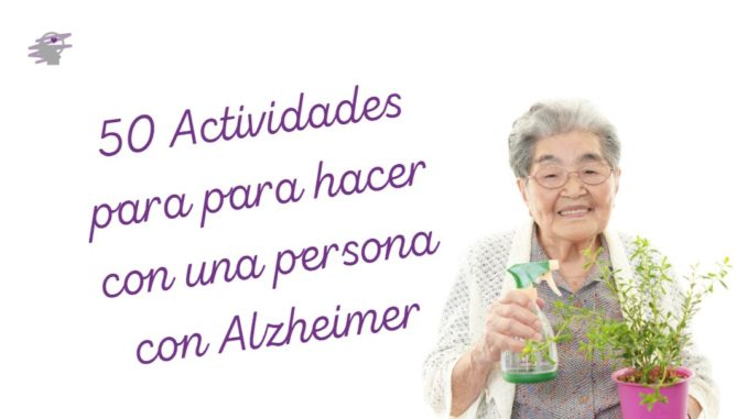 actividades alzheimer