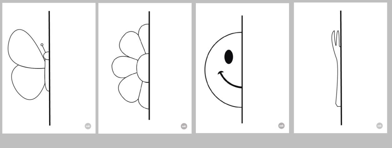 dibujos para simetria