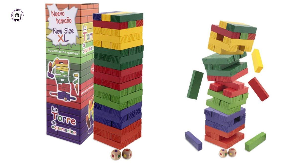 juego torre de bloques
