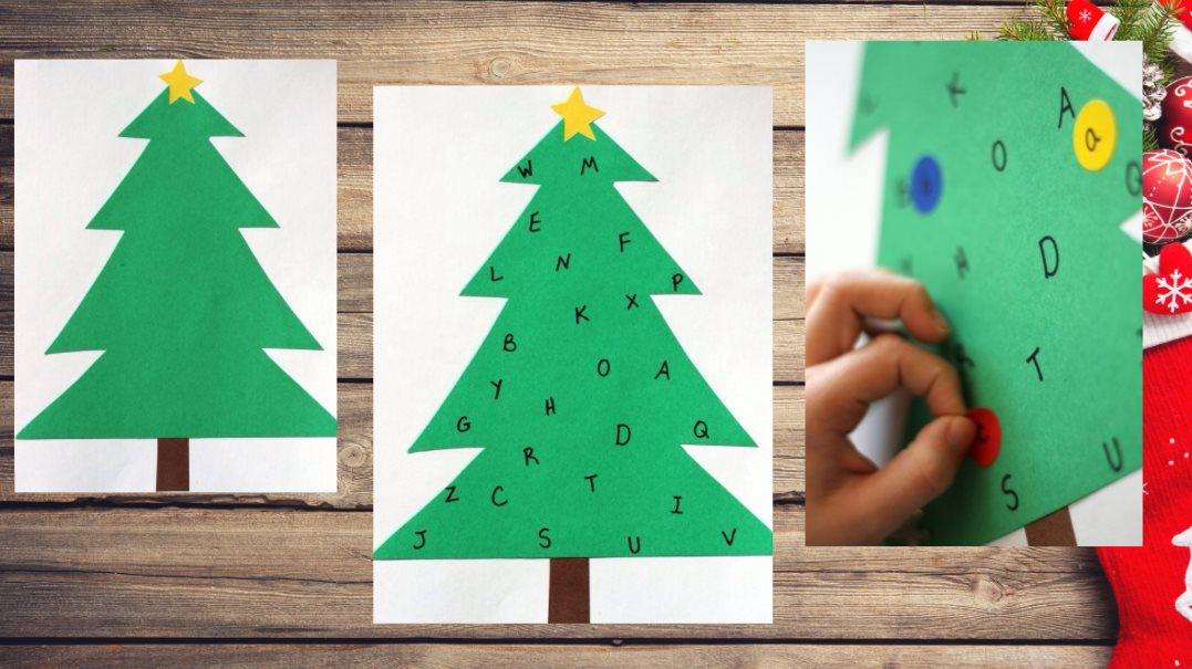 árbol navidad letras