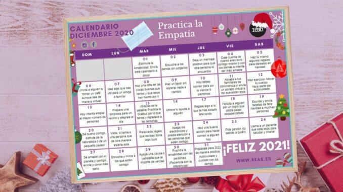 calendario empatia