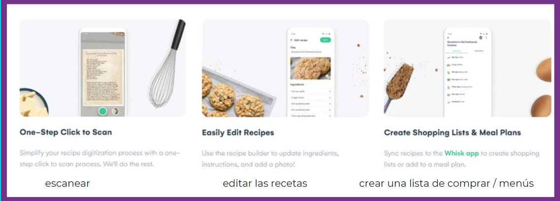 app recetas