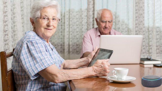 alexa y ancianos
