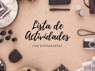 lista fotografias