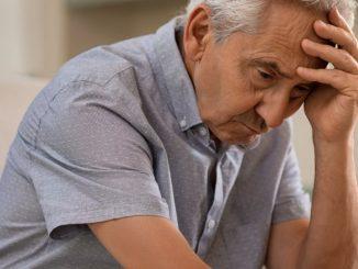 anciano deprimido
